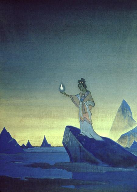 Н.К. Рерих. Агни Йога (Проект фрески I). 1928